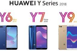 معرفی سری گوشی های Y هوآوی در سال ۲۰۱۸
