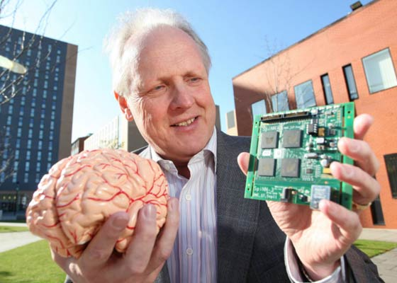 شبیه سازی مغز انسان با ابررایانه SpiNNaker