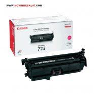 تونر کارتریج اصلی قرمز Canon 723
