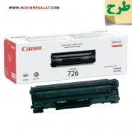 تونر کارتریج طرح اصلی Canon 726