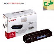 تونر کارتریج طرح اصلی Canon EP27