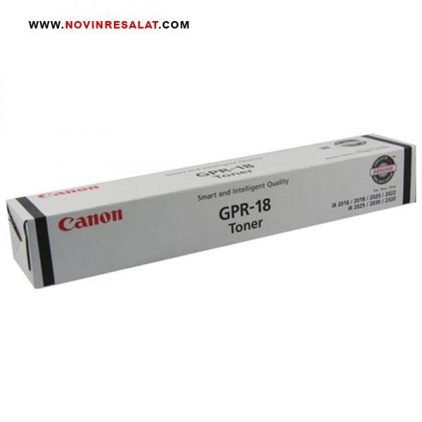 تونر کارتریج اصلی Canon GPR-18 Black