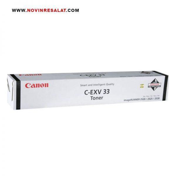 تونر کارتریج اصلی Canon C-EXV33 Black
